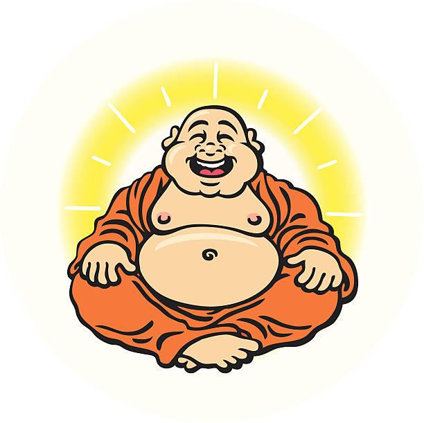 buddha - buddha stock illustrations, clip art, cartoons, & icons