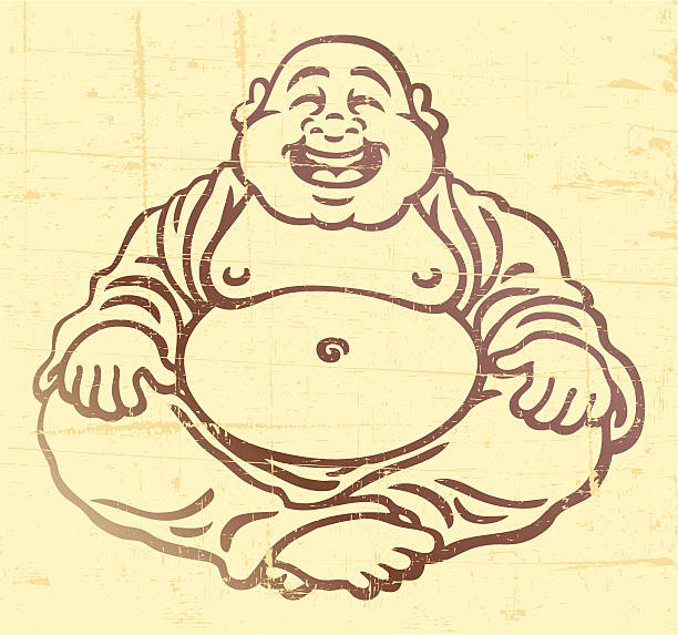 stockillustraties, clipart, cartoons en iconen met buddha - buddha