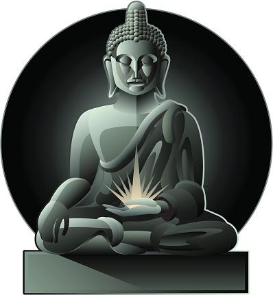 Buddha Stockvectorkunst en meer beelden van Boeddha