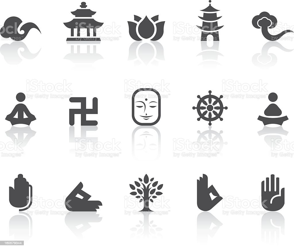Buddhism icons simple black series stock vector art more images buddhism icons simple black series royalty free buddhism icons simple black series stock vector buycottarizona Images