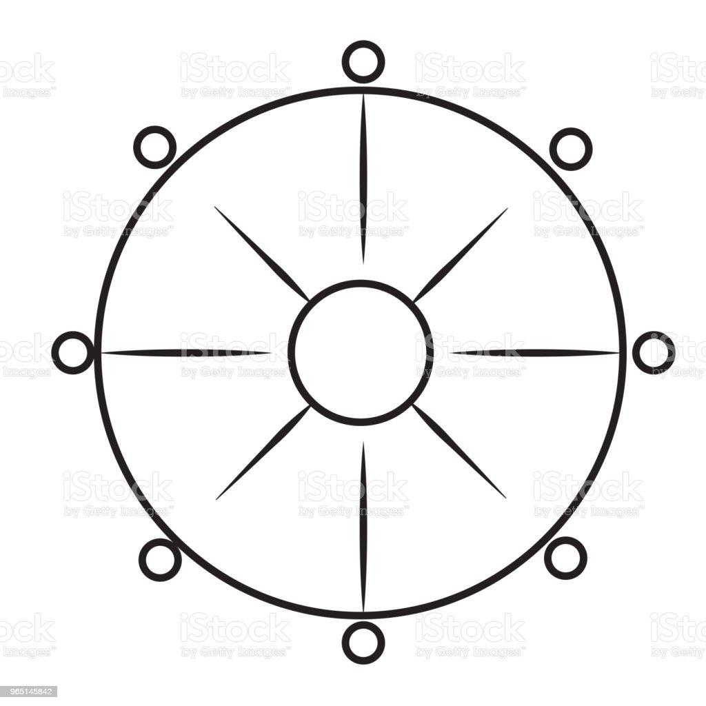 buddhism line icon buddhism line icon - stockowe grafiki wektorowe i więcej obrazów azerbejdżan royalty-free