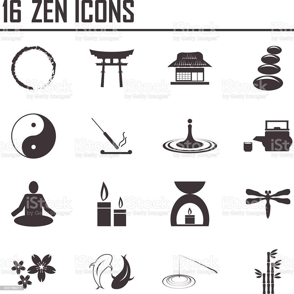 Buddhism zen philosophy icon set vector illustration stock vector buddhism zen philosophy icon set vector illustration royalty free buddhism zen philosophy biocorpaavc Images
