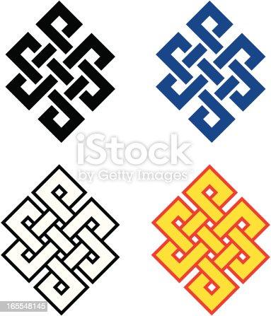 istock Buddhist Endless Knot 165548145