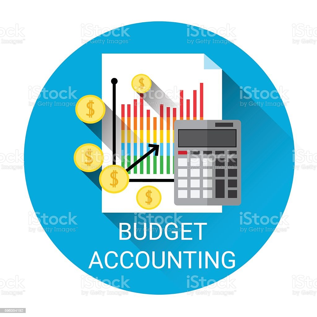 Budget Accounting Business Economy Icon royalty-free budget accounting business economy icon stock vector art & more images of bank