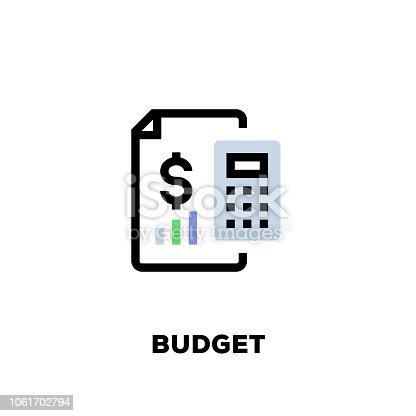 Budget Line Icon