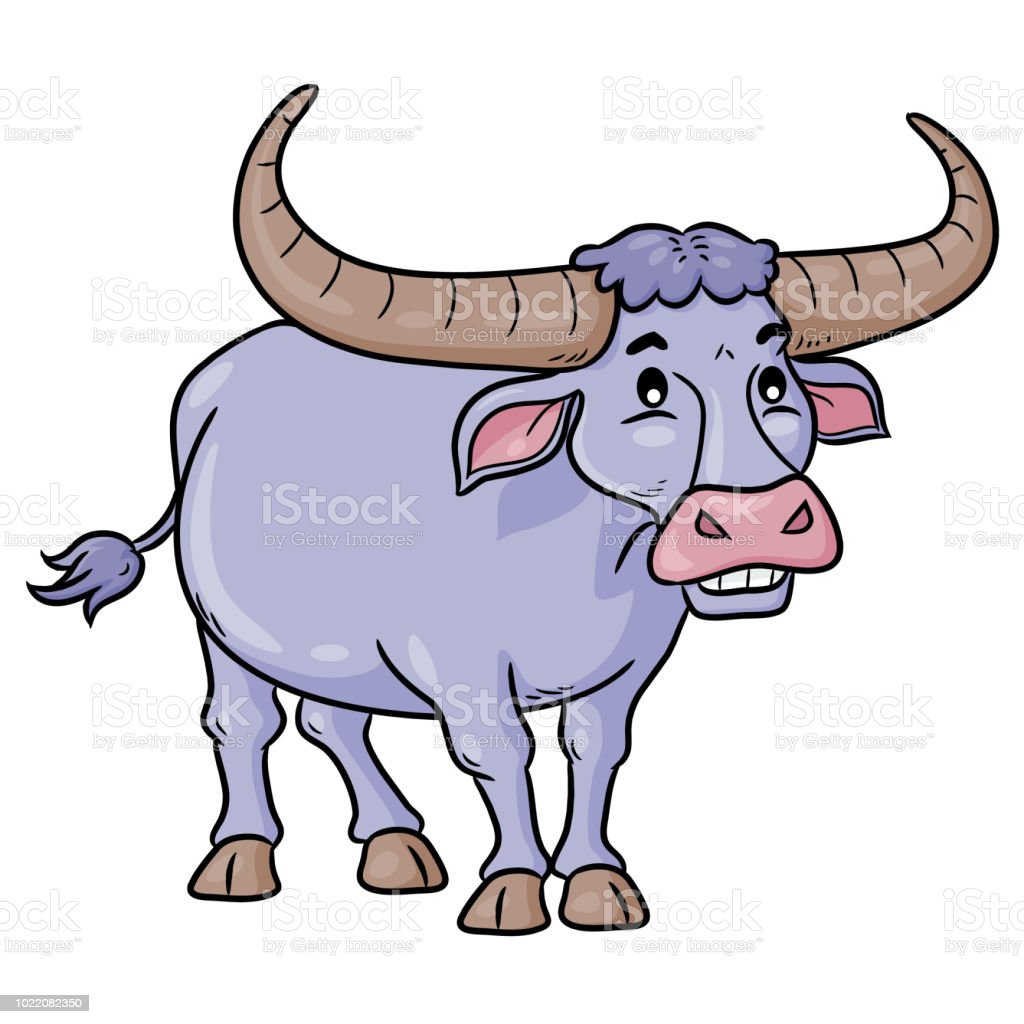 royalty free oxen cart cartoon clip art vector images rh istockphoto com Cartoon Oxen oven clipart image