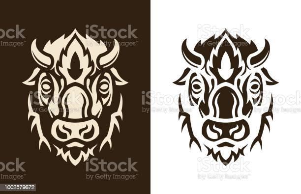 Buffalo head sihouette vector id1002579672?b=1&k=6&m=1002579672&s=612x612&h=wmckdjk0xjg1gnil1k9xg xhfx6fipndm0ycrrdjlh0=