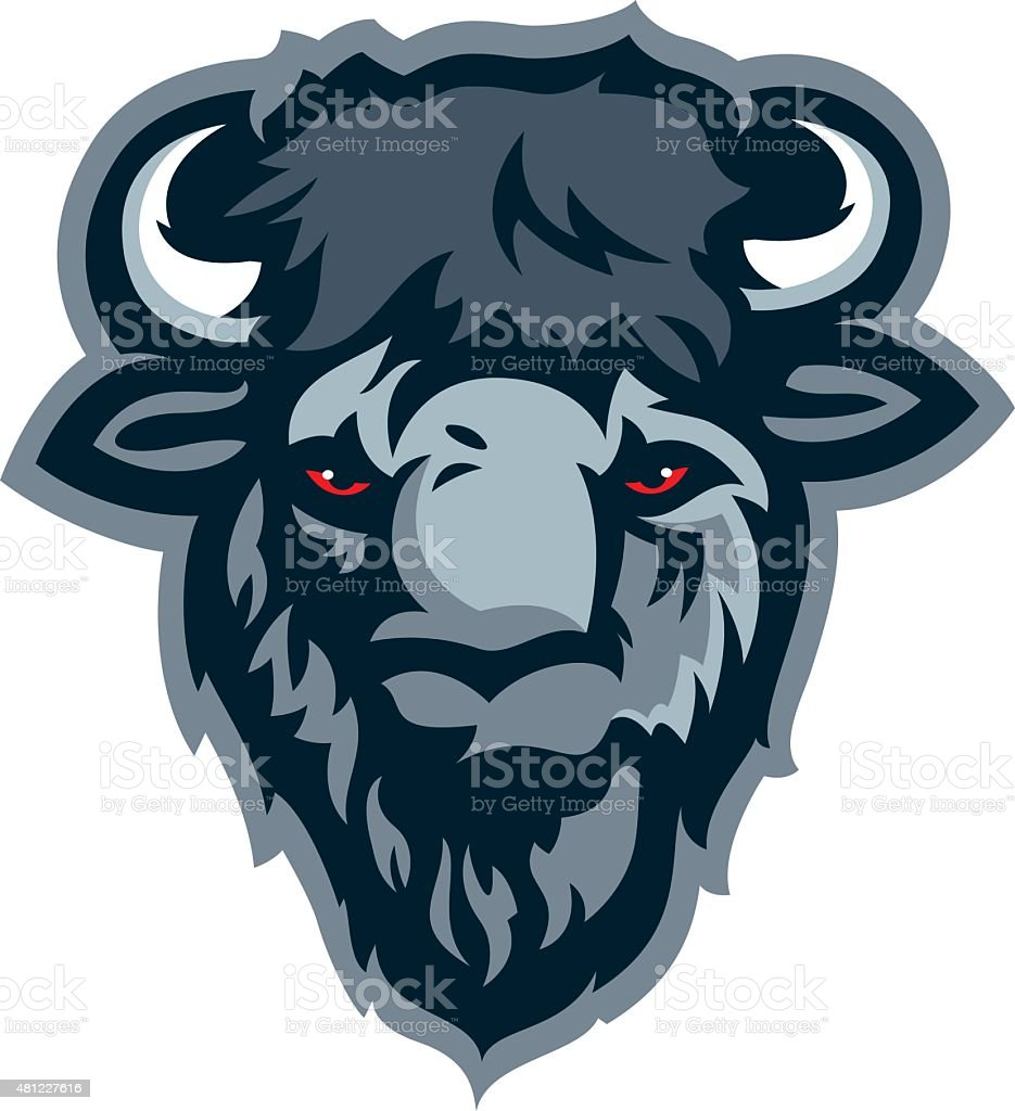 Buffalo Head royalty-free buffalo head stock vector art & more images of 2015
