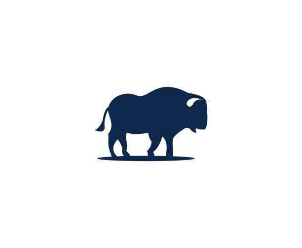 Buffalo icon This illustration/vector you can use for any purpose related to your business. american bison stock illustrations