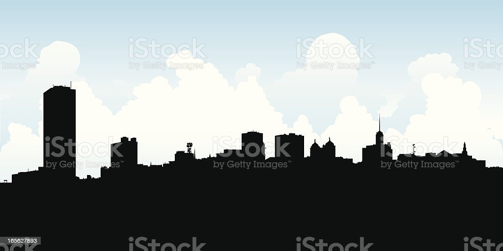 buffalo ny skyline stock vector art more images of backgrounds