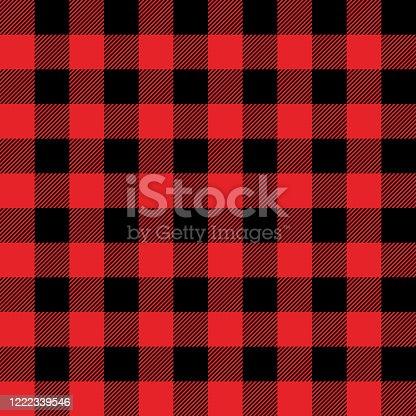 istock Buffalo Plaid Seamless Pattern 1222339546