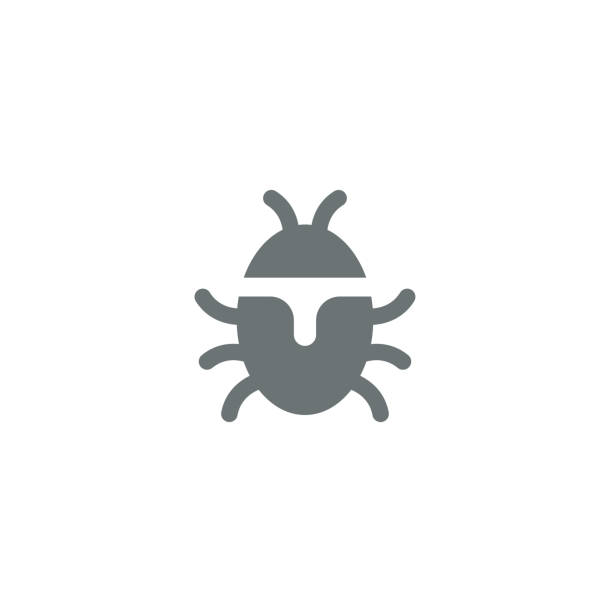 Bug icon Bug icon,vector illustration. EPS 10. insects stock illustrations