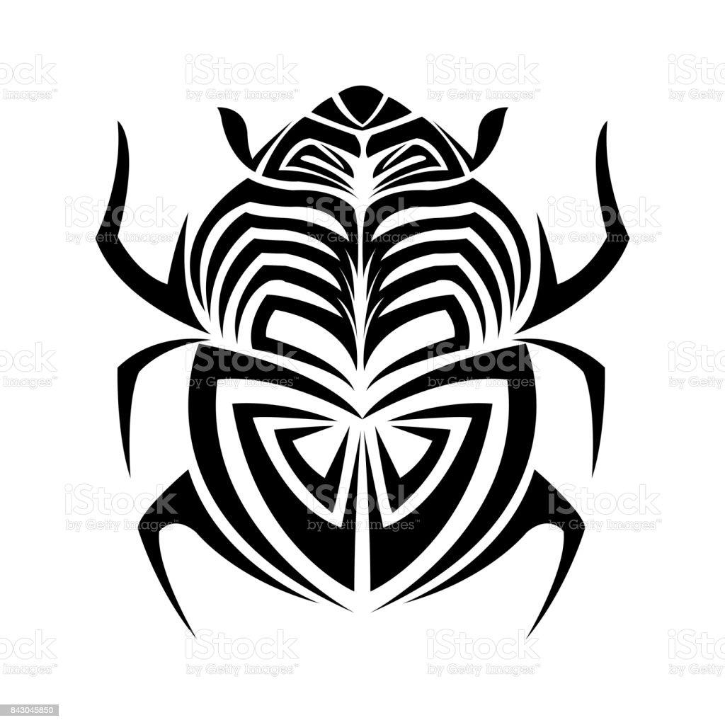 Ilustracion De Diseno De Tatuaje Insectos Bug Los Animales Y Mas