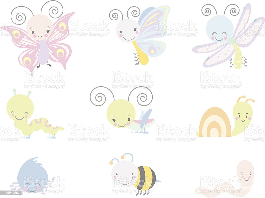 Bugs and Insects royalty-free bugs and insects stock vector art & more images of animal shell