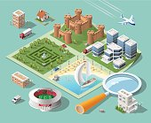 istock Build Your Own Isometric City. 512732818