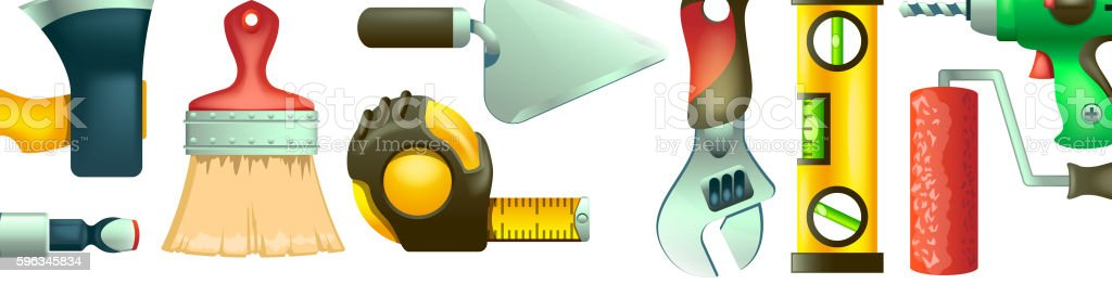 builders icons background royalty-free builders icons background stock vector art & more images of business finance and industry