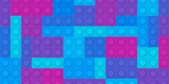 Building Block Abstract Background