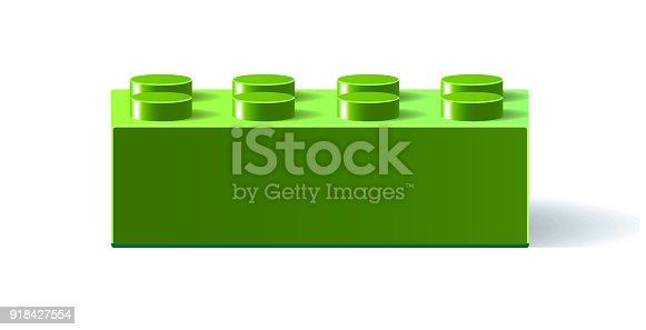 istock Building block toy 918427554