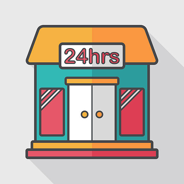 Best Convenience Store Illustrations, Royalty-Free Vector ...
