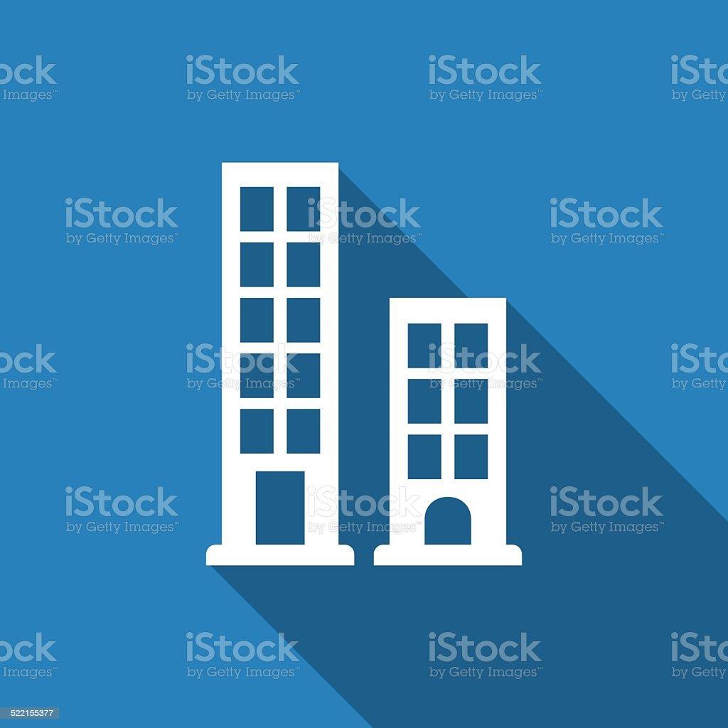 building icon vector art illustration