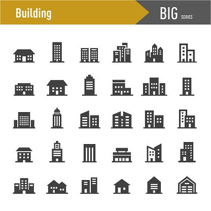 Building Icons - Big Series