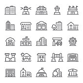 Building, real estate, icon, icon set, architecture, house, stadium
