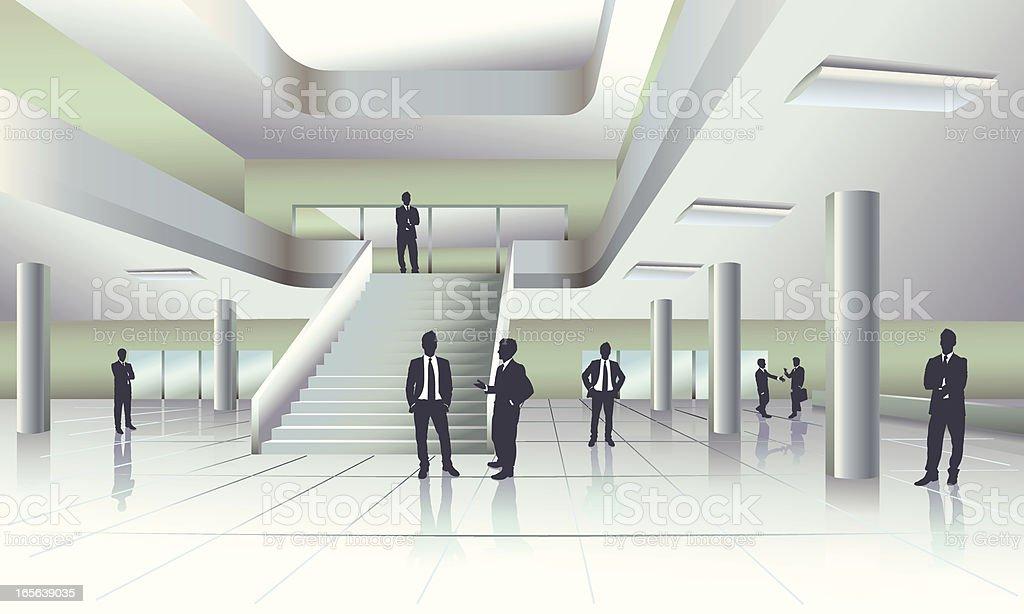 Building Interior royalty-free stock vector art