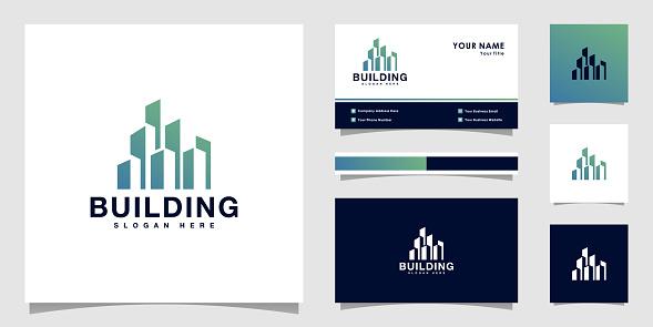 building logo vector design