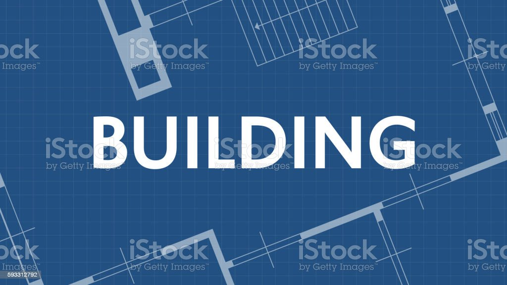Building on blueprint arte vectorial de stock y ms imgenes de building on blueprint building on blueprint arte vectorial de stock y ms imgenes de arquitecto malvernweather Choice Image