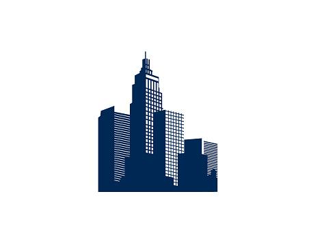 Building Real estate illustration