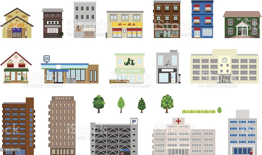 Building - Royaltyfri Affär vektorgrafik