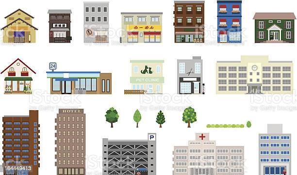 Building-vektorgrafik och fler bilder på Affär