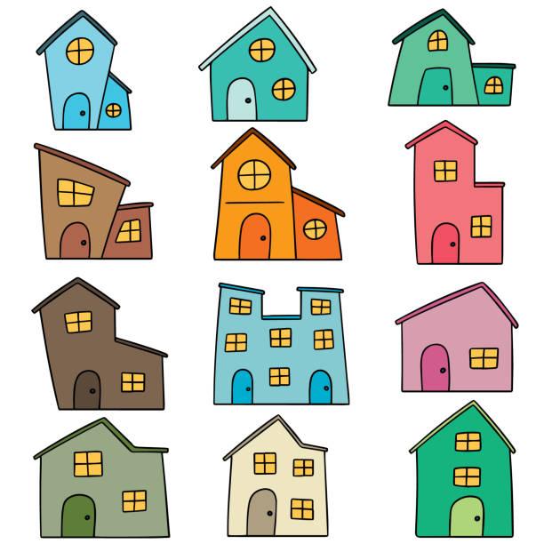 building – artystyczna grafika wektorowa