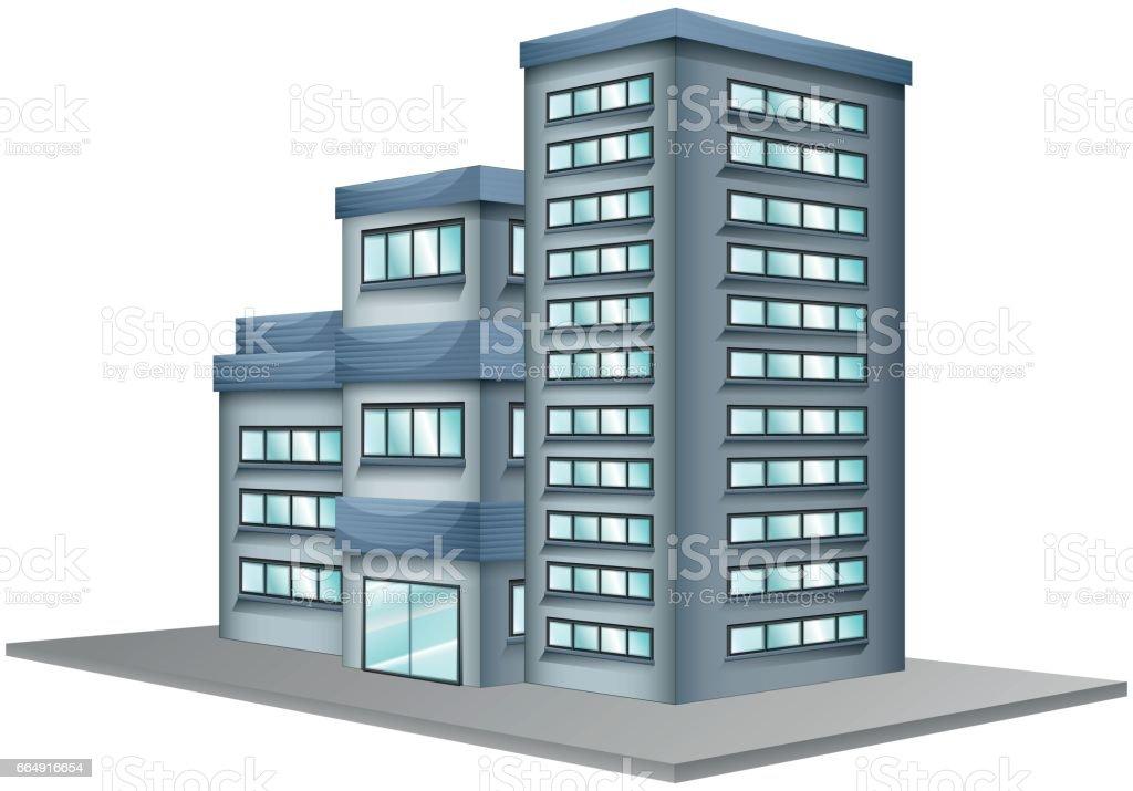 Building with glass windows building with glass windows - immagini vettoriali stock e altre immagini di affari royalty-free
