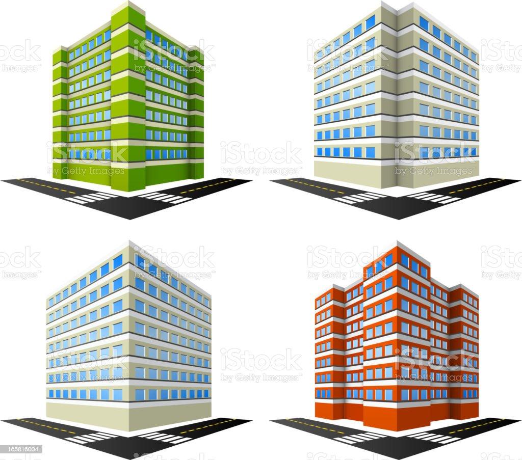 Gebäude – Vektorgrafik