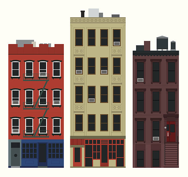 Nyc Apartment Complexes: Royalty Free New York Apartment Clip Art, Vector Images