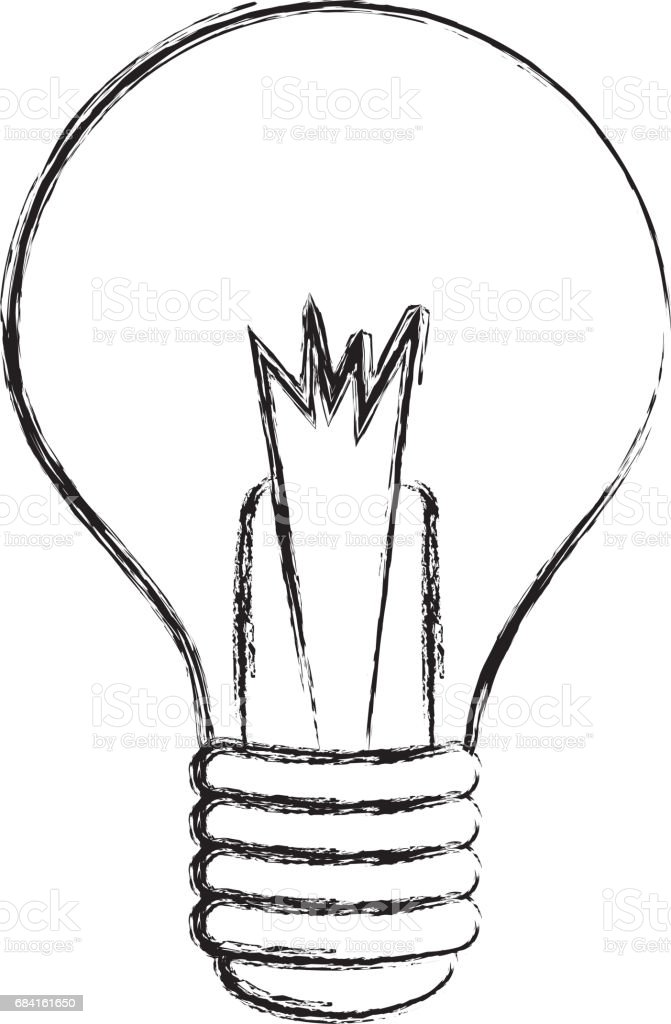 bulb light isolated icon royalty-free bulb light isolated icon stock vector art & more images of bright