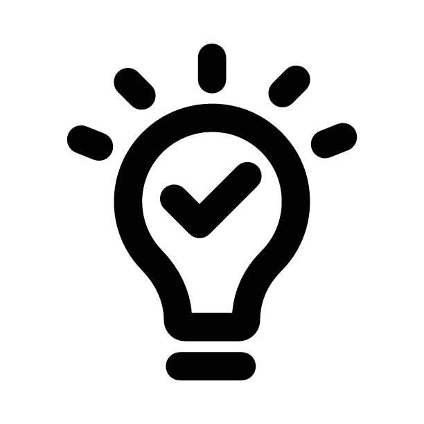 bulb light energy efficient lightbulb stock illustrations