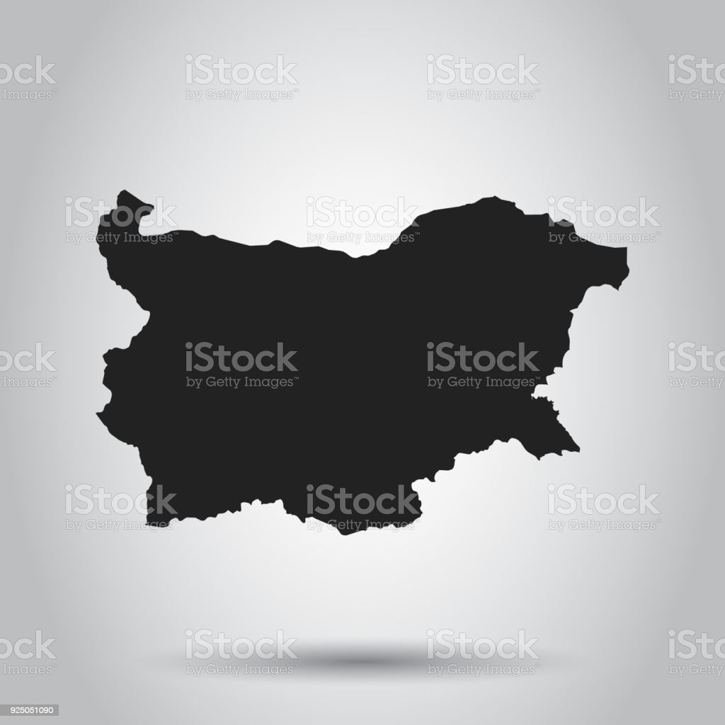 Bulgaria vector map black icon on white background stock vector art bulgaria vector map black icon on white background royalty free bulgaria vector map gumiabroncs Images
