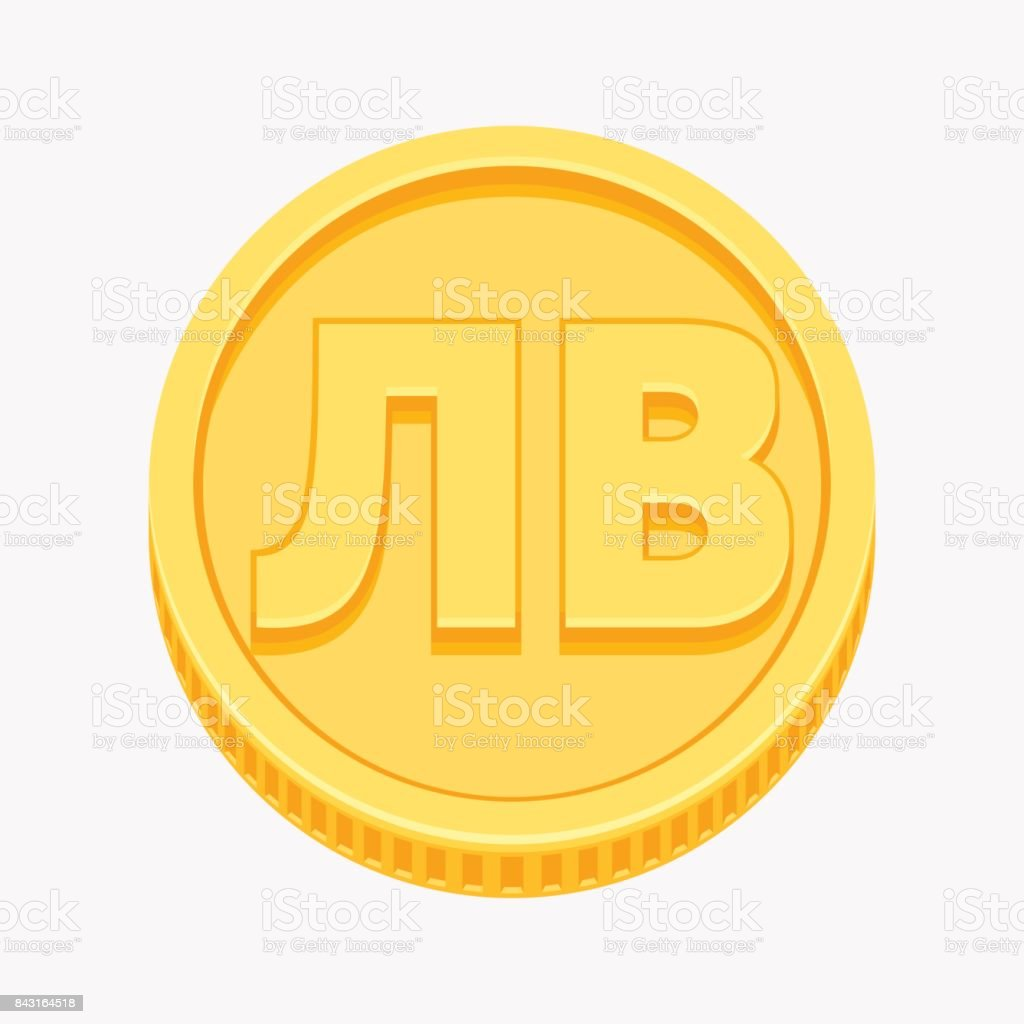 Bulgarian lev symbol on gold coin stock vector art more images bulgarian lev symbol on gold coin royalty free bulgarian lev symbol on gold coin stock biocorpaavc