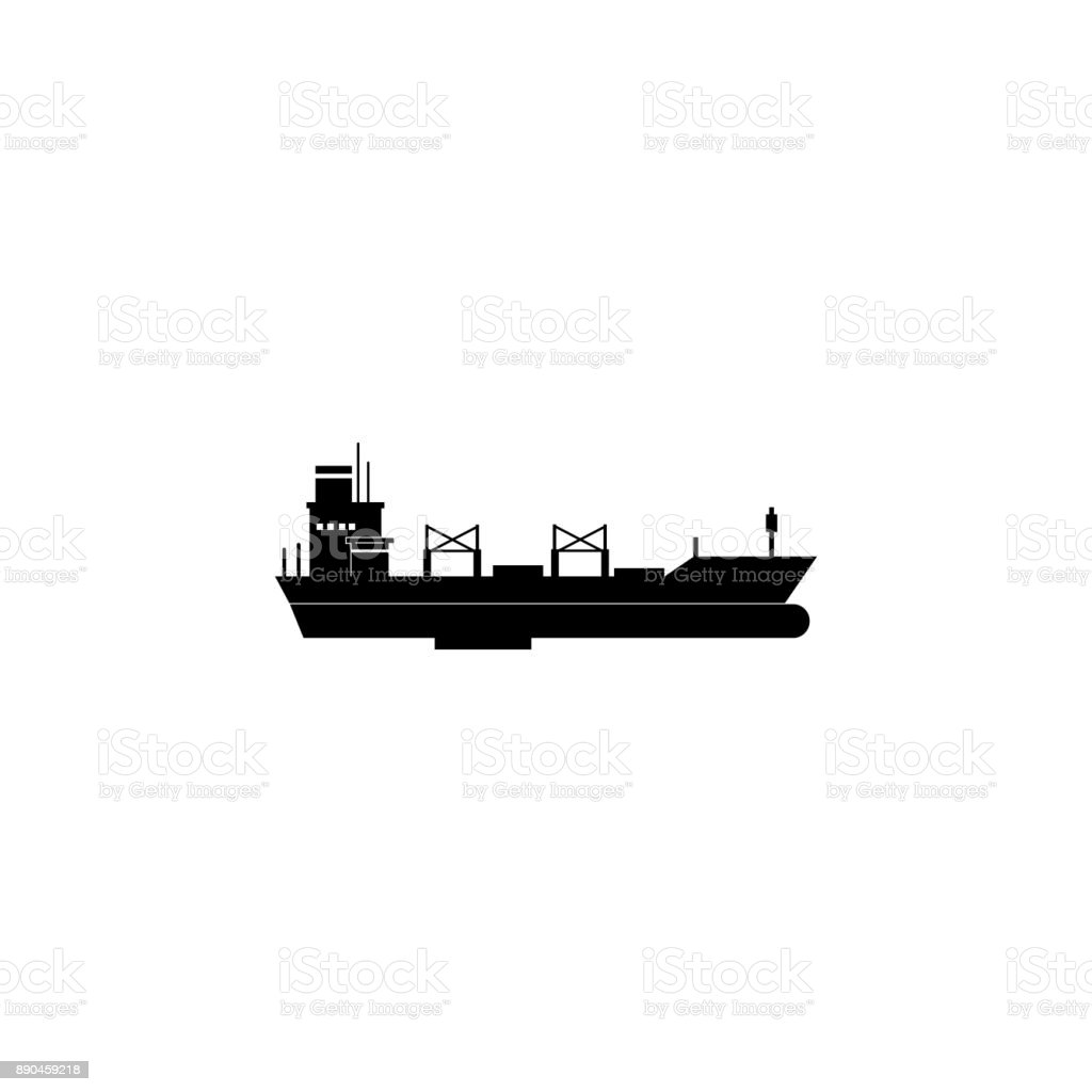 Bulk Carriersymbol Wassertransportelemente Premiumqualitätgrafik ...