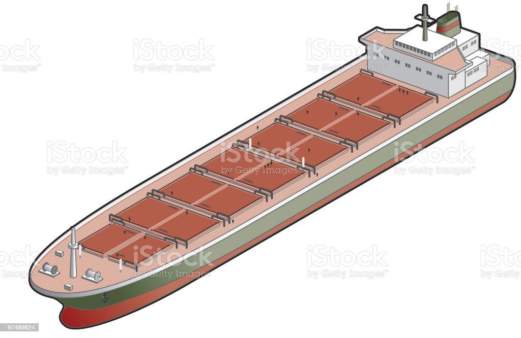Bulk Carrier Ship Icon. Design Elements royalty-free bulk carrier ship icon design elements stock vector art & more images of boat deck