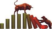 Bull and Bear -Stock Market Trends