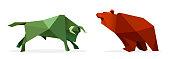 market exchange - origami