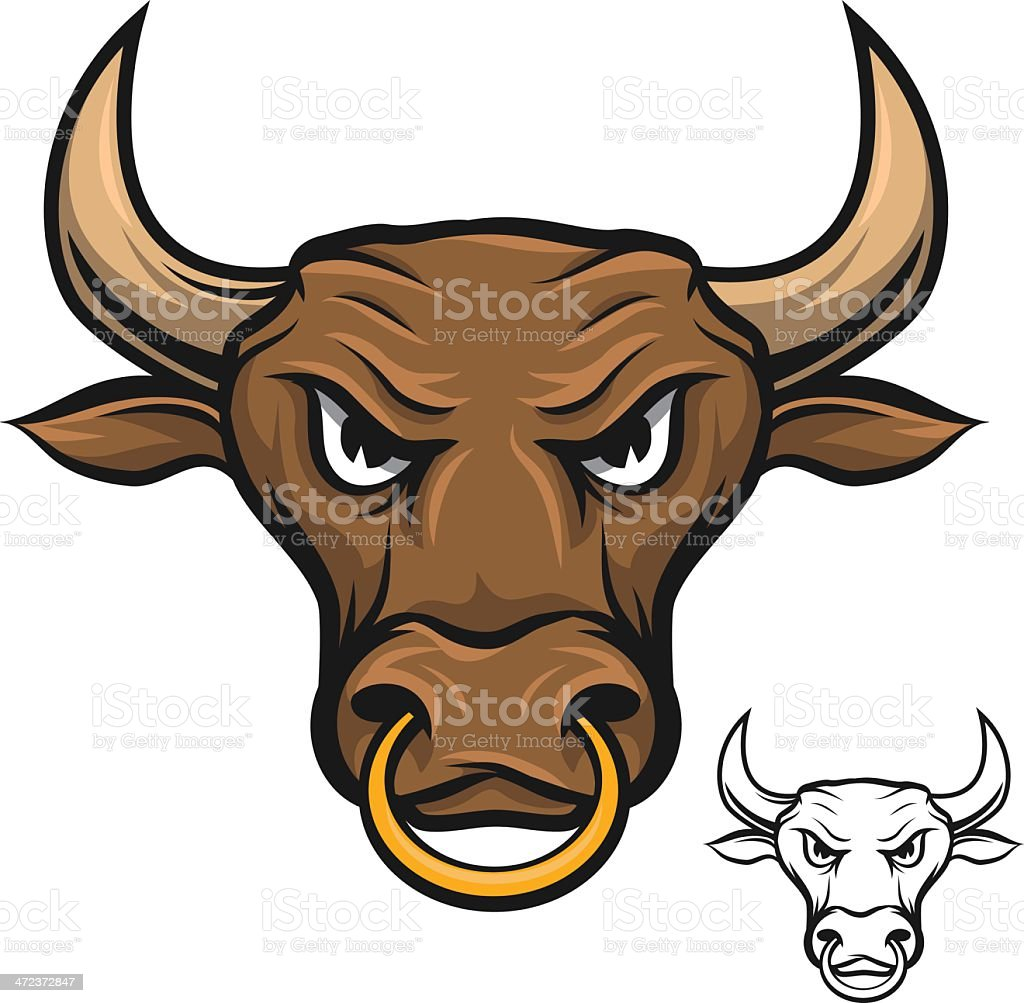 royalty free angry bull clip art vector images illustrations istock rh istockphoto com ball clipart bull clip art images