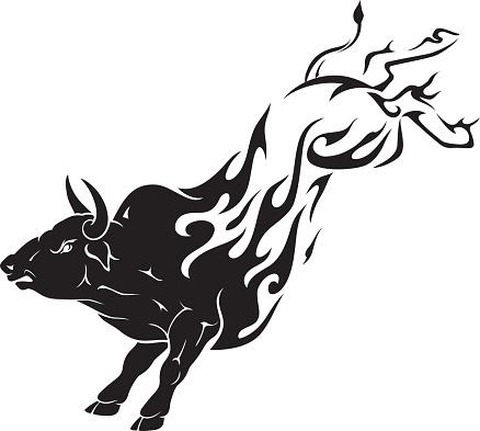 Bull Kick Flame