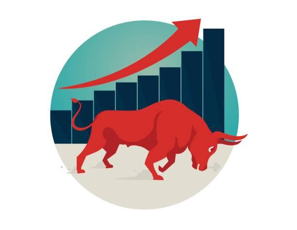 Royalty Free Bull Market Clip Art, Vector Images ...