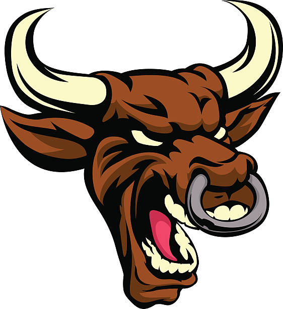 Royalty Free Angry Bull Clip Art, Vector Images ...