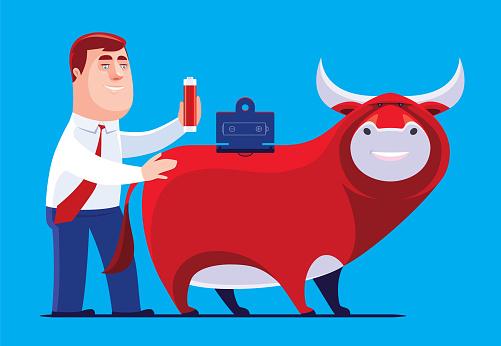 bull replacing battery