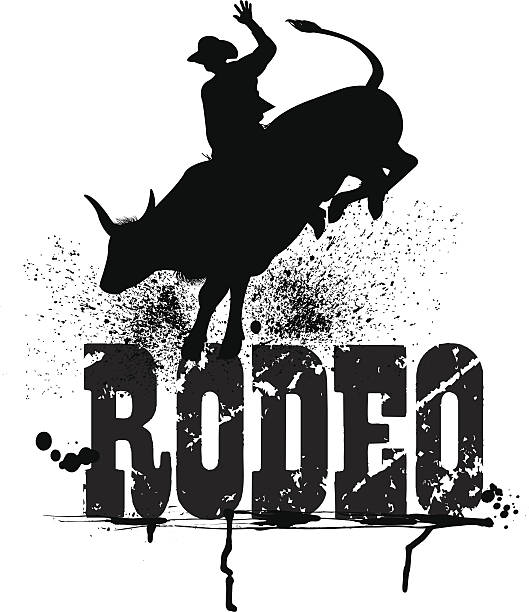 Best Rodeo Bull Riding Illustrations, Royalty-Free Vector Graphics & Clip Art - iStock